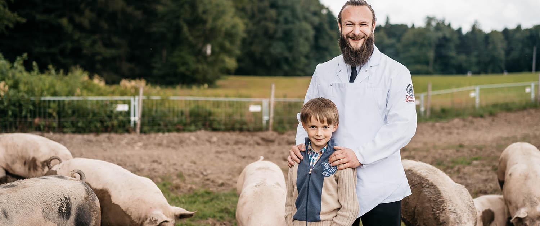 qualitativ hochwertiges Fleisch vom BIO Schwein aus Salzburg