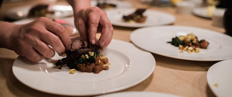 Hochzeits Gourmet-Buffet von Stocker Catering Service München