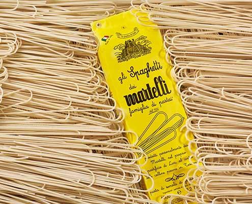 feinste italienische Martelli Pasta