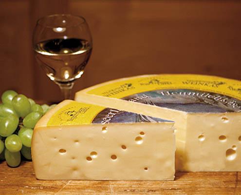 feinster BIO Käse der Tegernseer Weinkäse